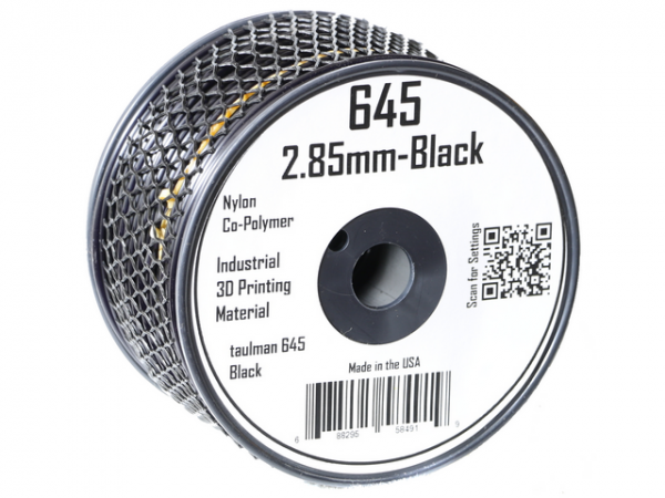 Фото нить для 3D-принтера Taulman 3D 2.85mm Nylon 645 Black
