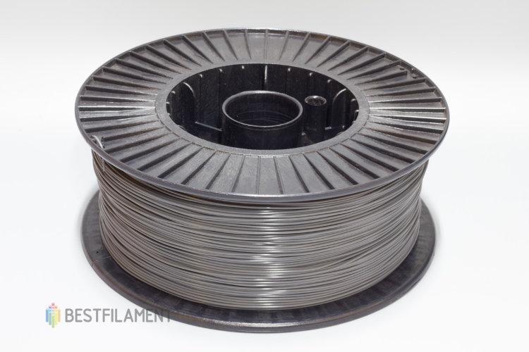 Фото нить для 3D-принтера Темно-серый ABS пластик Bestfilament 2.5 кг, 1.75 мм