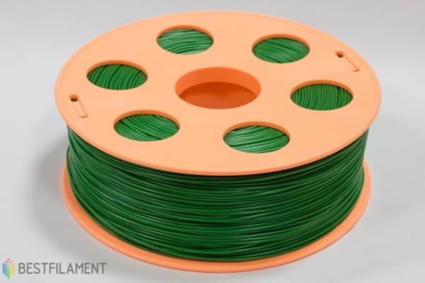 Фото нить для 3D-принтера Зеленый ABS пластик Bestfilament 1 кг, 1.75 мм