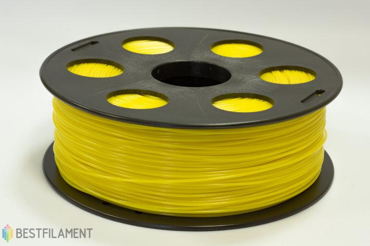 Фото нить для 3D-принтера Желтый ABS пластик Bestfilament 1 кг, 1.75 мм