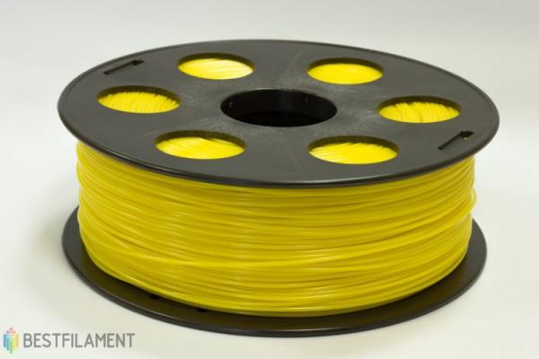 Фото нить для 3D-принтера Желтый PLA пластик Bestfilament 1 кг, 2.85 мм
