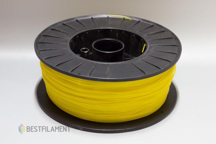 Фото нить для 3D-принтера Желтый PLA пластик Bestfilament 2.5 кг, 1.75 мм