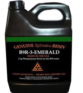 Фото Пигментированной смолы B9R-3-Emerald Resin