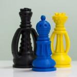 Фотография модели, напечатанной на 3D принтере Альфа (1)
