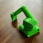 Фотография модели, напечатанной на 3D принтере MakerBot Replicator Mini (1)