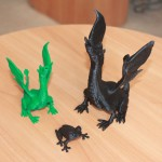 Фотография модели, напечатанной на 3D принтере ПриZма Окта 2.0 A (5)