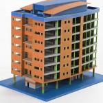 Фотография модели, напечатанной на 3D принтере ProJet 260С (ZPrinter 250) (1)