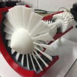 Фотография модели, напечатанной на 3D принтере UP! Mini (3)
