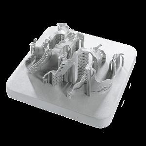Фотография модели, напечатанной с использованием сплава Rematitan®