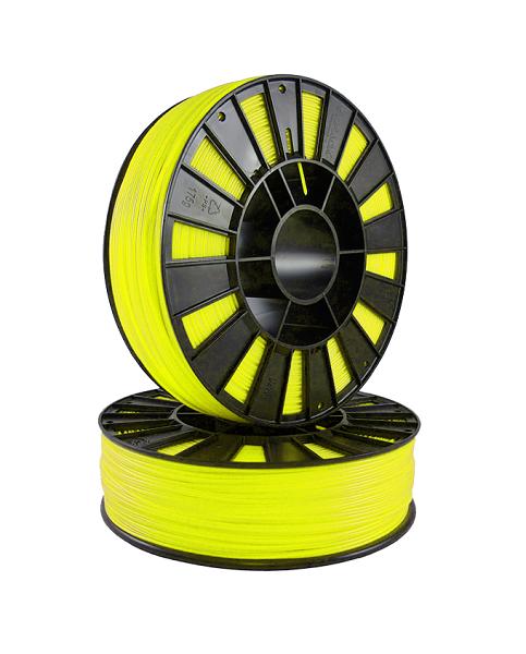 Фото ABS пластик 1,75 SEM флуоресцентный лимонный 1