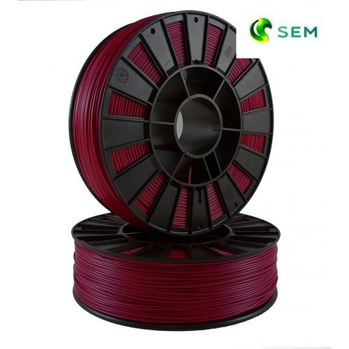 Фото нить для 3D-принтера ABS пластик 1,75 SEM бордовый