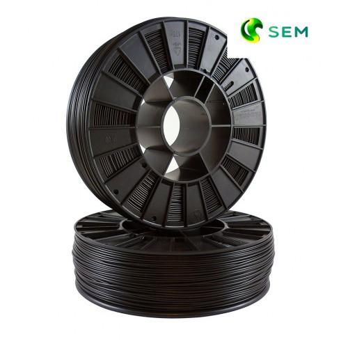 Фото нить для 3D-принтера ABS пластик 1,75 SEM черный