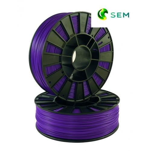 Фото нить для 3D-принтера ABS пластик 1,75 SEM фиолетовый