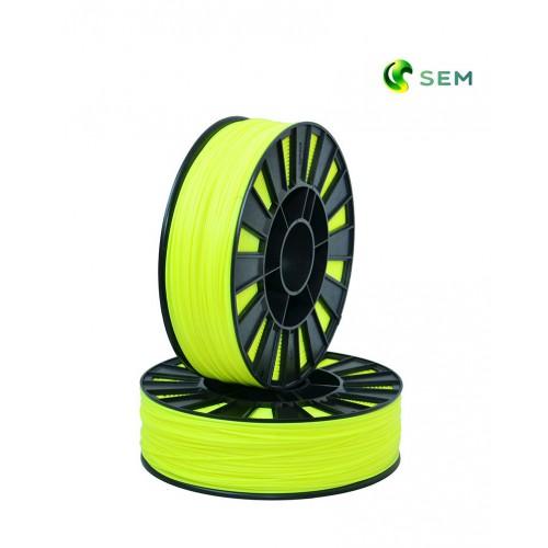 Фото нить для 3D-принтера ABS пластик 1,75 SEM флуоресцентный лимонный