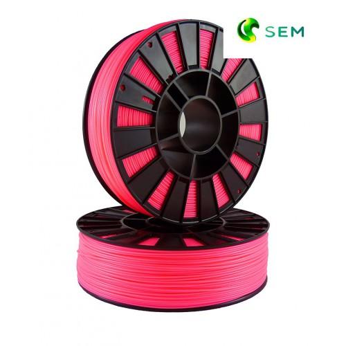 Фото нить для 3D-принтера ABS пластик 1,75 SEM флуоресцентный розовый