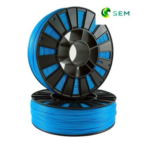 Фото нить для 3D-принтера ABS пластик 1,75 SEM голубой