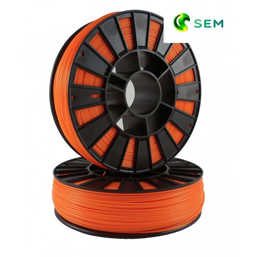 Фото нить для 3D-принтера ABS пластик 1,75 SEM оранжевый