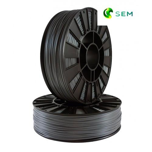 Фото нить для 3D-принтера ABS пластик 1,75 SEM серый