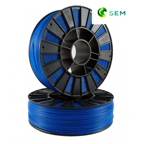 Фото нить для 3D-принтера ABS пластик 1,75 SEM синий