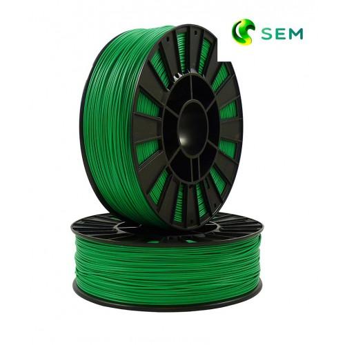 Фото нить для 3D-принтера ABS пластик 1,75 SEM зеленый