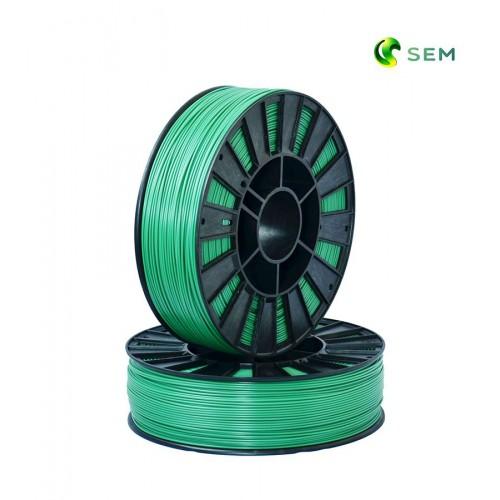 Фото нить для 3D-принтера ABS пластик 1,75 SEM зеленый металлик