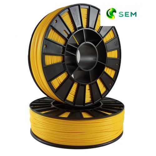 Фото нить для 3D-принтера ABS пластик 1,75 SEM желтый