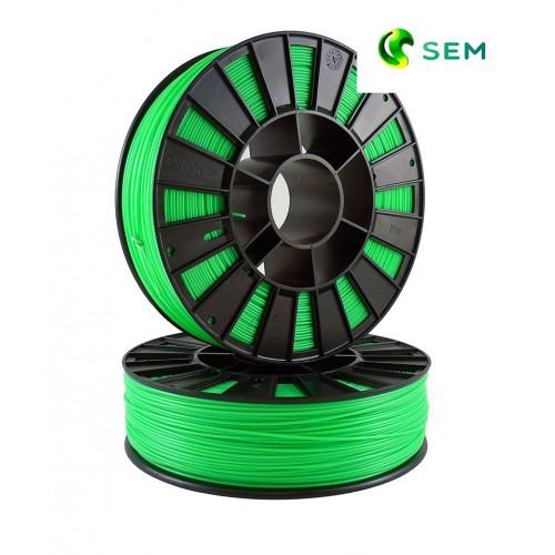 Фото нить для 3D-принтера ABS пластик 2,85 SEM флуоресцентный зеленый