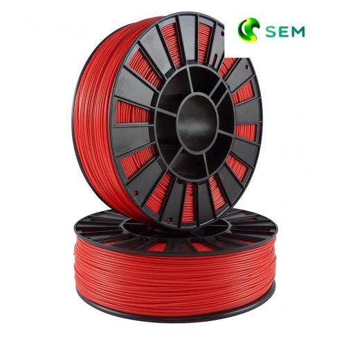 Фото нить для 3D-принтера ABS пластик 2,85 SEM красный