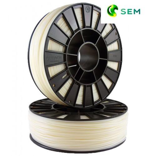 Фото нить для 3D-принтера ABS пластик 2,85 SEM натуральный