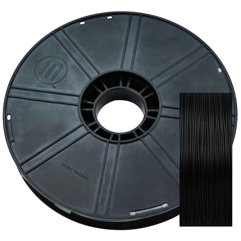 Фото нить для 3D-принтера PLA-пластик MakerBot 1.75 мм, 0.9 кг черный