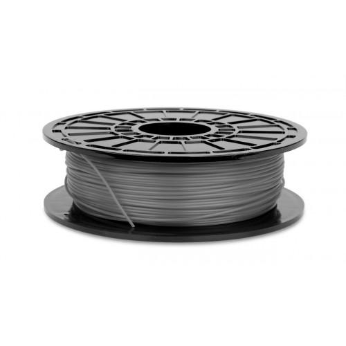 Фото нить для 3D-принтера PLA пластик 1,75 SEM серебро (металлик)