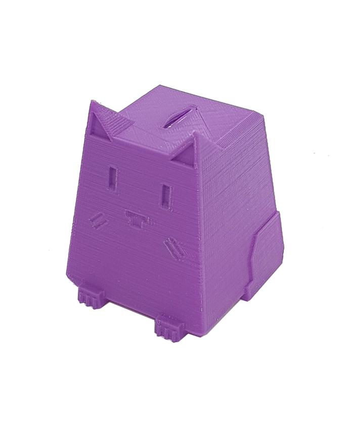 Фото пример пластика sem цвет фиолетовый