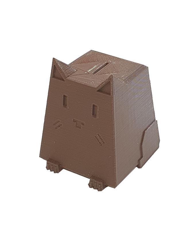 Фото пример пластика sem цвет коричневый