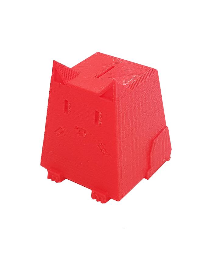 Фото пример пластика sem цвет красный