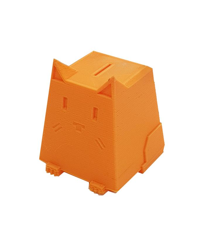 Фото пример пластика sem цвет оранжевый