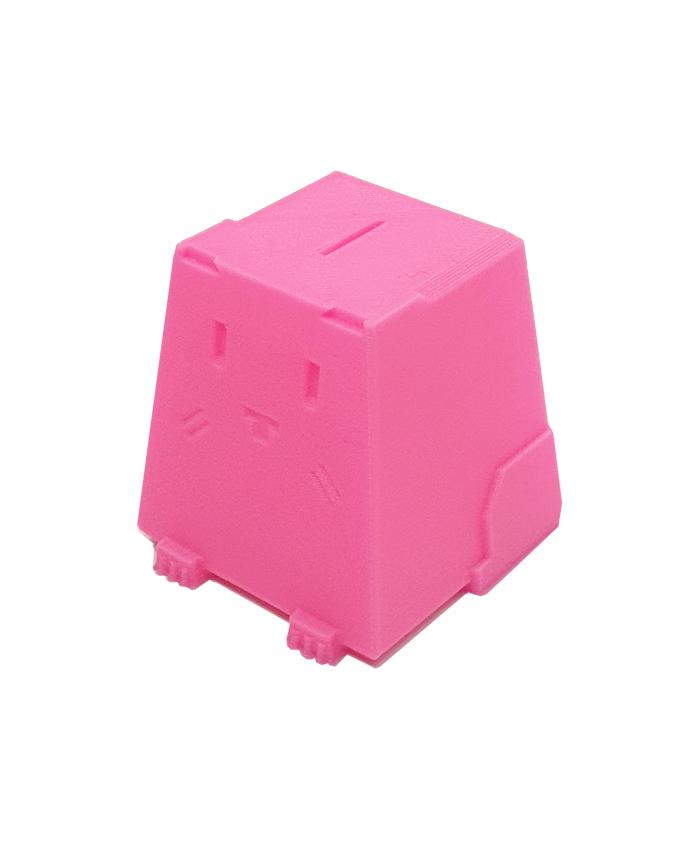 Фото пример пластика sem цвет розовый флуоресцентный