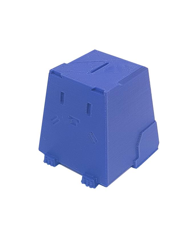 Фото пример пластика sem цвет темно-синий