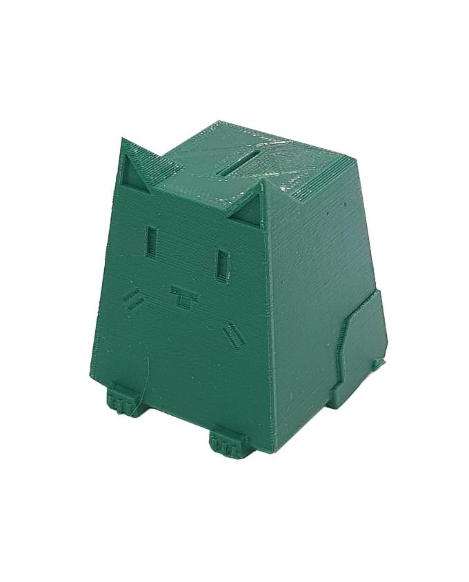 Фото пример пластика sem цвет темно-зеленый