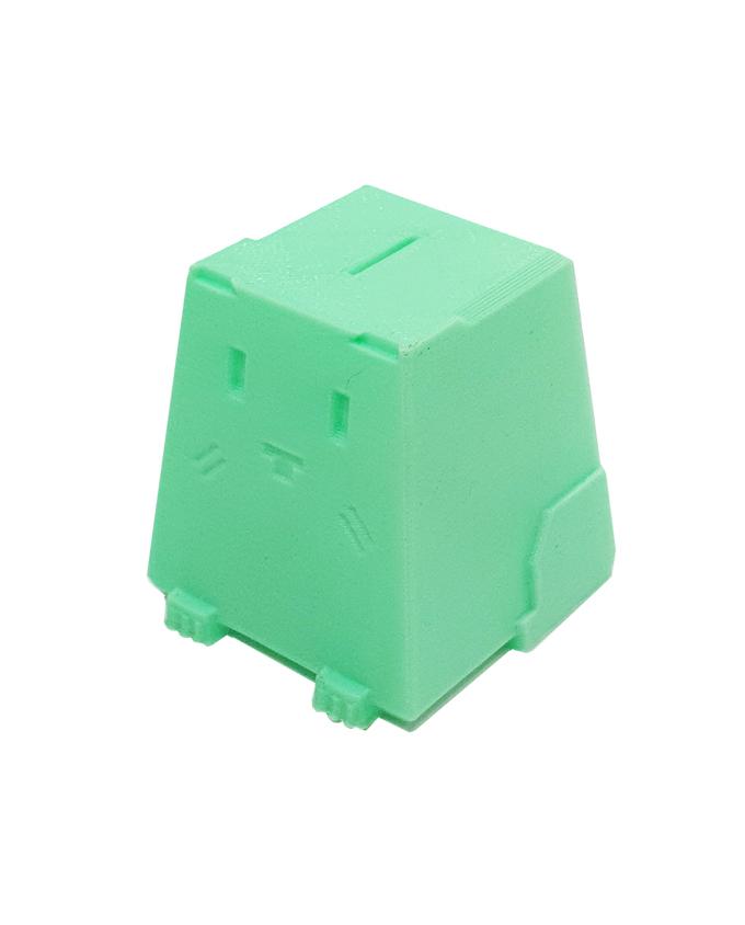 Фото пример пластика sem цвет зеленый флуоресцентный