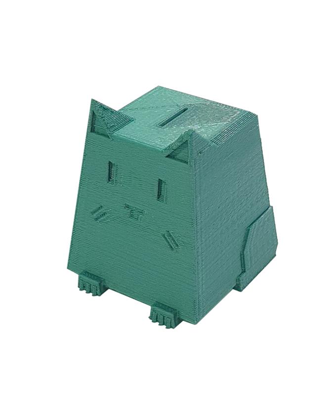 Фото пример пластика sem цвет зеленый металл