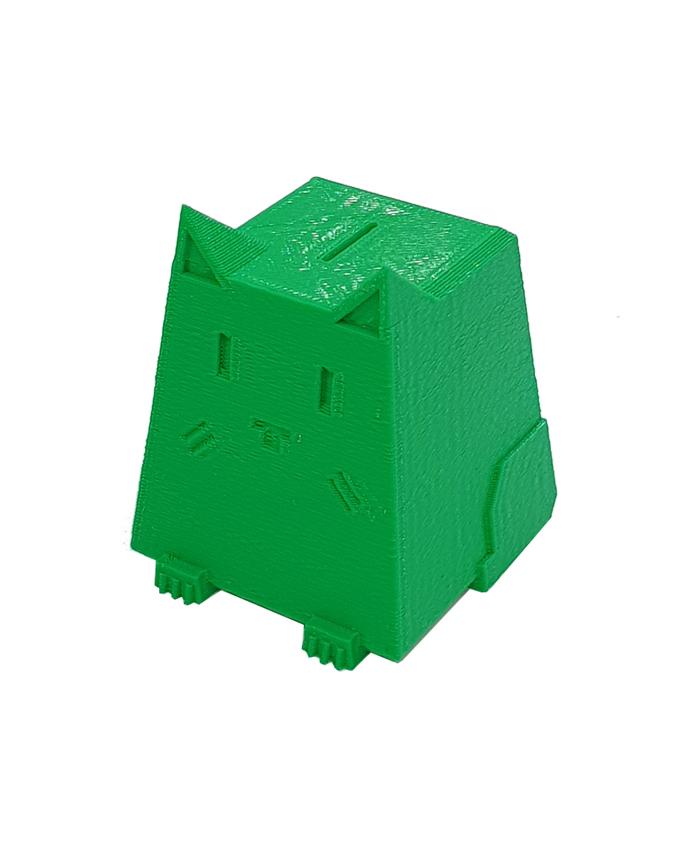 Фото пример пластика sem цвет зеленый