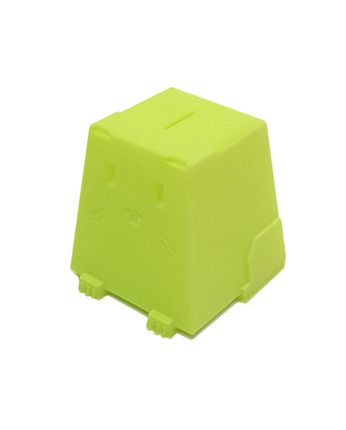 Фото пример пластика sem цвет желтый флуоресцентный