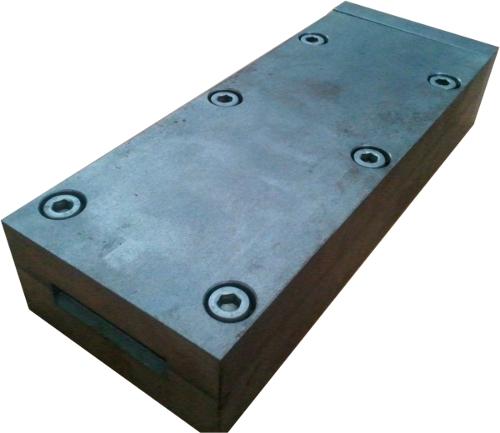 Фото Изложница для литья полосы 50 х 5 х 220 мм с адаптером для VC500/600