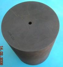 Фото Тигель графитовый D=176 х 250 для литья,угол дна 140град., 10 мм отверстие, Di=150мм, VC3000, оригинал, Германия