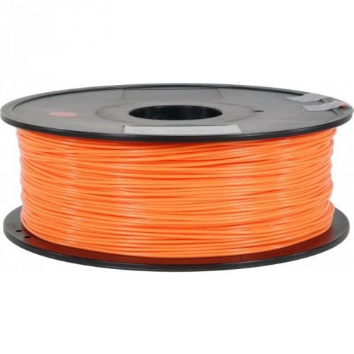 Фото ABS пластик FL33 1 кг флуоресцентный оранжевый