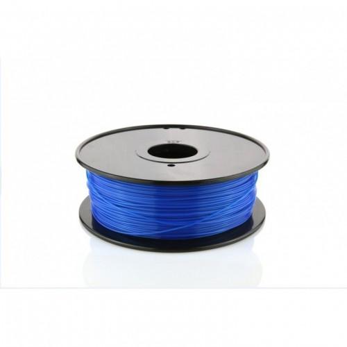 Фото ABS пластик FL33 1 кг флуоресцентный синий