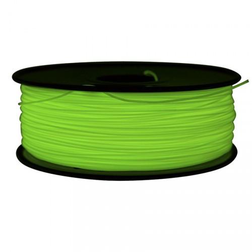 Фото ABS пластик FL33 1 кг флуоресцентный зеленый