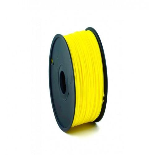 Фото ABS пластик FL33 1 кг флуоресцентный желтый