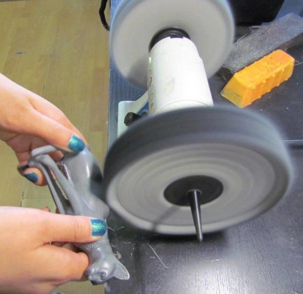 Фото Паста для полировки полимеров LUXI коричневая
