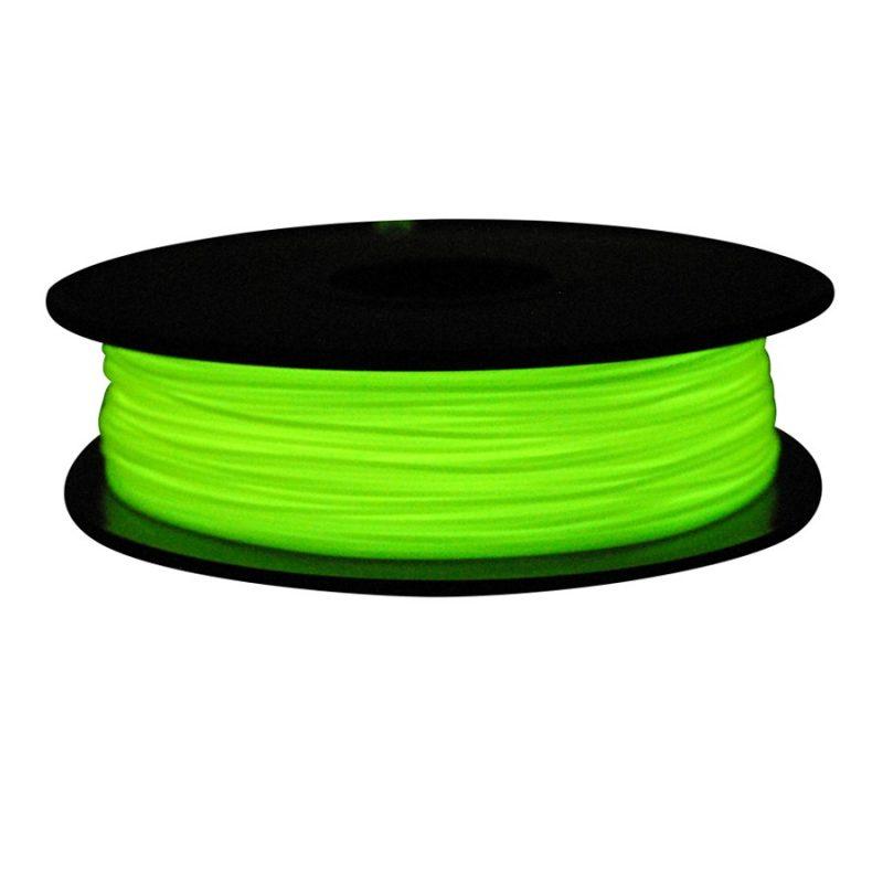 Фото PLA пластик FL33 0.5 кг светящийся зеленый